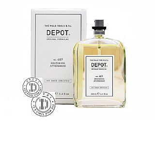 AFTER SHAVE RESTABILITOR DEPOT NR.407 100ML, DEP0407-1