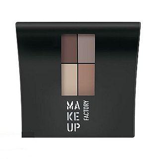 Fard de pleoape – Mat Eye Color Quattro Eye Shadow, Make Up Factory, MF2542-XXX